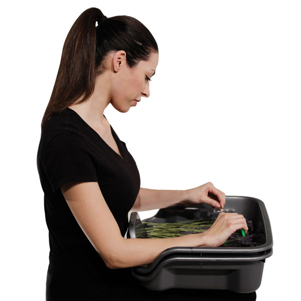 Work Smart with Trim Bin by Harvest-More